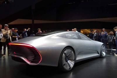 Mercedes IAA Concept : les photos en direct de Francfort