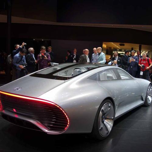 Mercedes IAA Concept : les photos en direct de Francfort