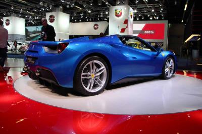 Ferrari 488 Spider : les photos en direct de Francfort