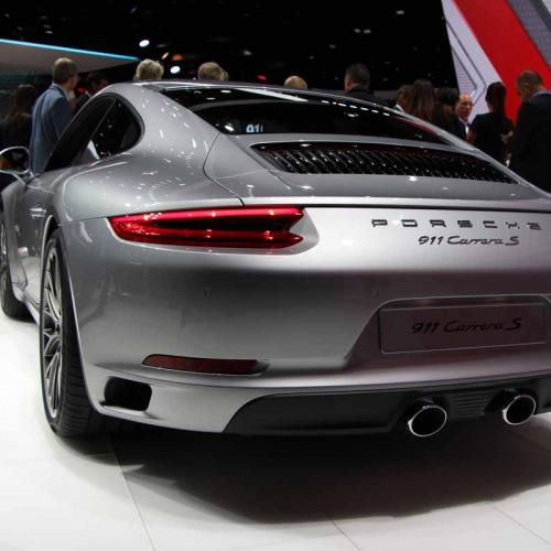 Porsche 911 restylée : les photos en direct de Francfort
