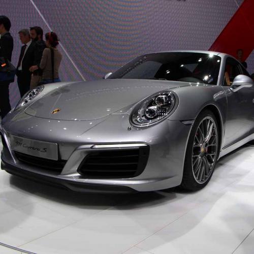 Porsche 911 restylée : les photos en direct de Francfort