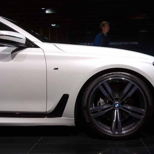 BMW Série 7 : les photos en direct du salon de Francfort