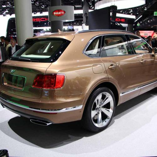 Bentley Bentayga : les photos en direct du salon de Francfort