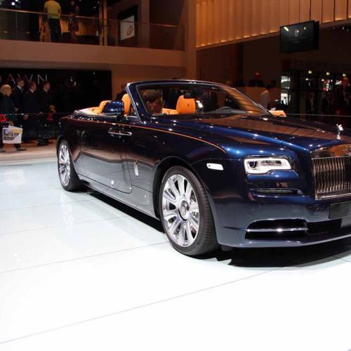 Rolls-Royce Dawn : les photos en direct de Francfort