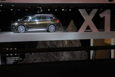 BMW X1 2016 : les photos en direct du salon de Francfort