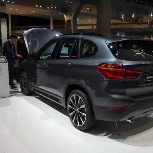 BMW X1 2016 : les photos en direct du salon de Francfort