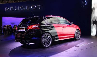 Peugeot 308 GTI : les photos du salon de Francfort