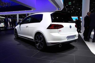 Volkswagen Golf GTI Clubsport : les photos en direct de Francfort