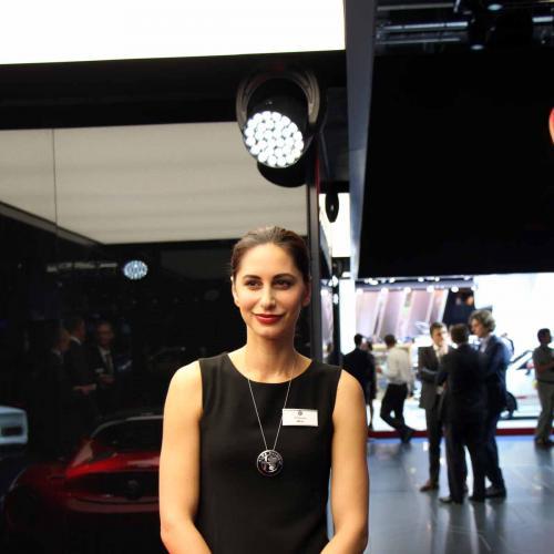 Salon de Francfort 2015 : les hôtesses en photos