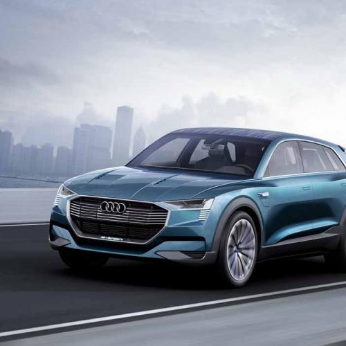 Audi E-Tron Quattro Concept : toutes les photos