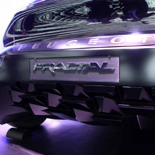 Peugeot Fractal : les photos en direct du salon de Francfort