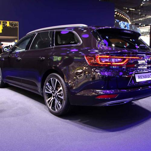Renault Talisman Estate : les photos en direct du salon de Francfort