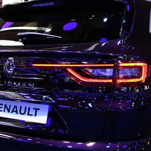 Renault Talisman Estate : les photos en direct du salon de Francfort