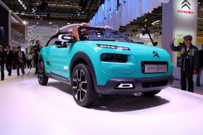 Citroën C4 Cactus M : les photos en direct de Francfort