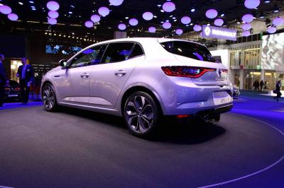 Renault Mégane IV : les photos en direct du salon de Francfort