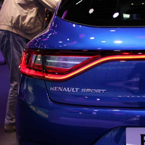 Renault Mégane IV : les photos en direct du salon de Francfort