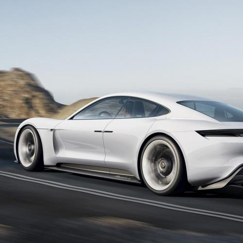 Porsche Mission E concept : les photos