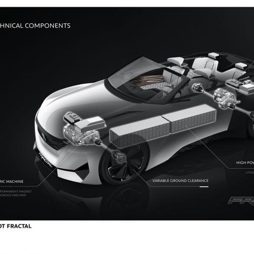 Peugeot Fractal : toutes les photos du concept