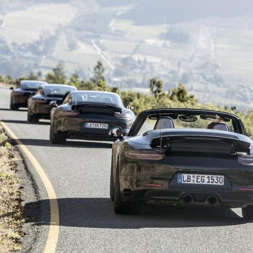 Porsche 911 : les spyshots de la 991 phase 2