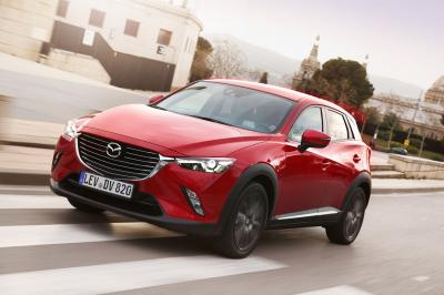 Mazda CX-3 : le plein de photos