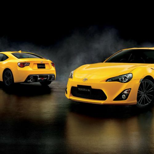 Toyota GT86 Yellow Limited : Les photos
