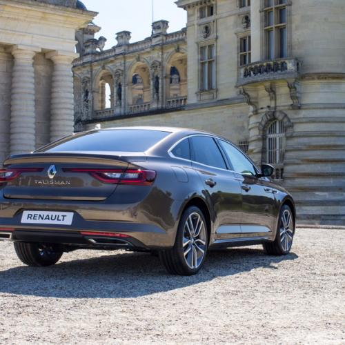 La Renault Talisman à Chantilly