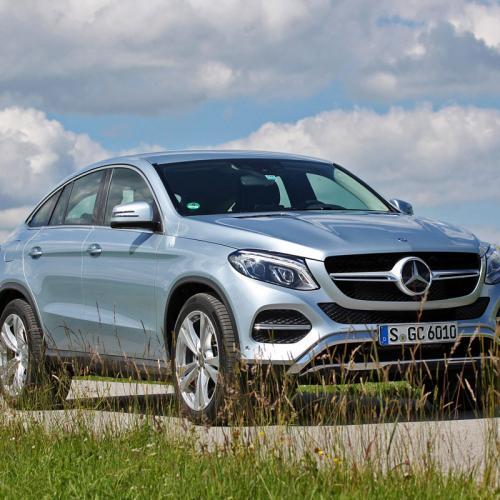 Essai Mercedes GLE Coupé