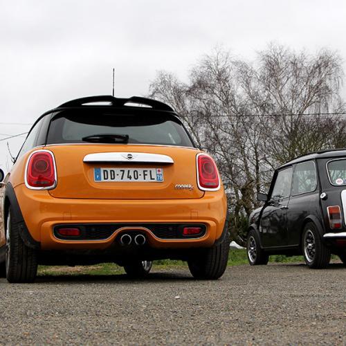 Comparatif Mini ancienne et nouvelle