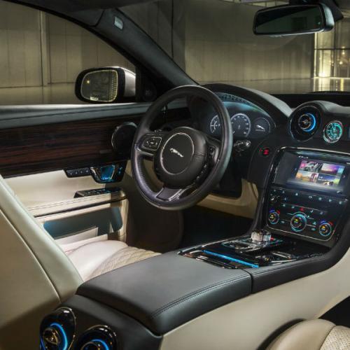 Jaguar XJ : Les photos du modèle restylé