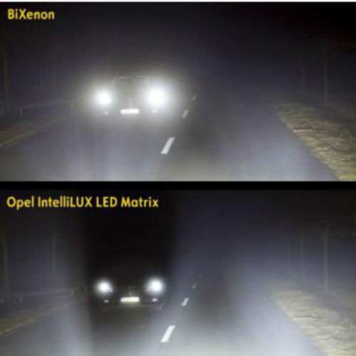 IntelliLux : l'éclairage matriciel selon Opel