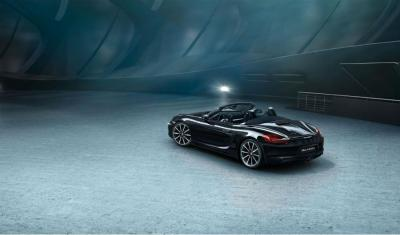 Porsche Boxster et 911 Carrera Black Edition: les photos