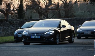 Tesla Model S essai