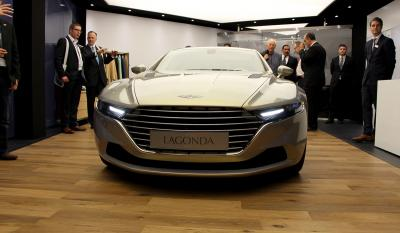 Aston Martin Lagonda taraf Genève 2015