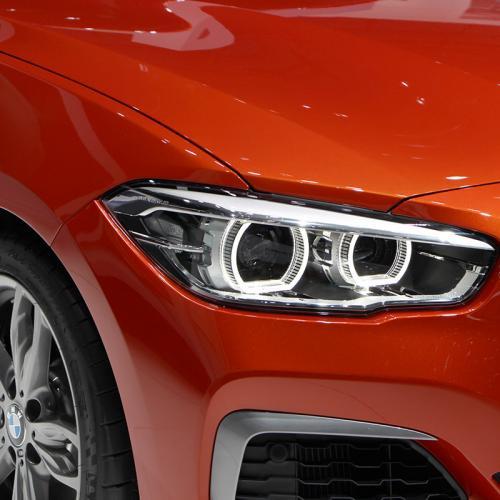 BMW Série 1 restylée Genève 2015