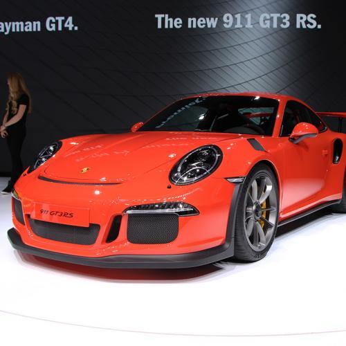 Porsche 911 GT3 RS Genève 2015