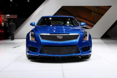 Cadillac ATS-V Genève 2015