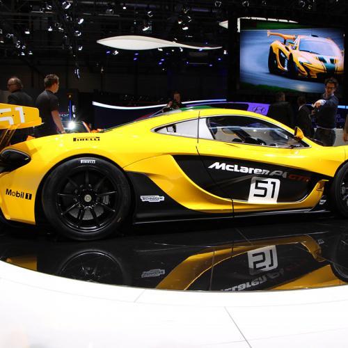 McLaren P1 GTR Genève 2015