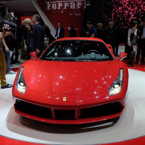 Ferrari 488 GTB Genève 2015