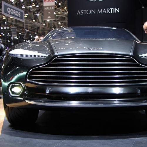 Aston Martin DBX Genève 2015