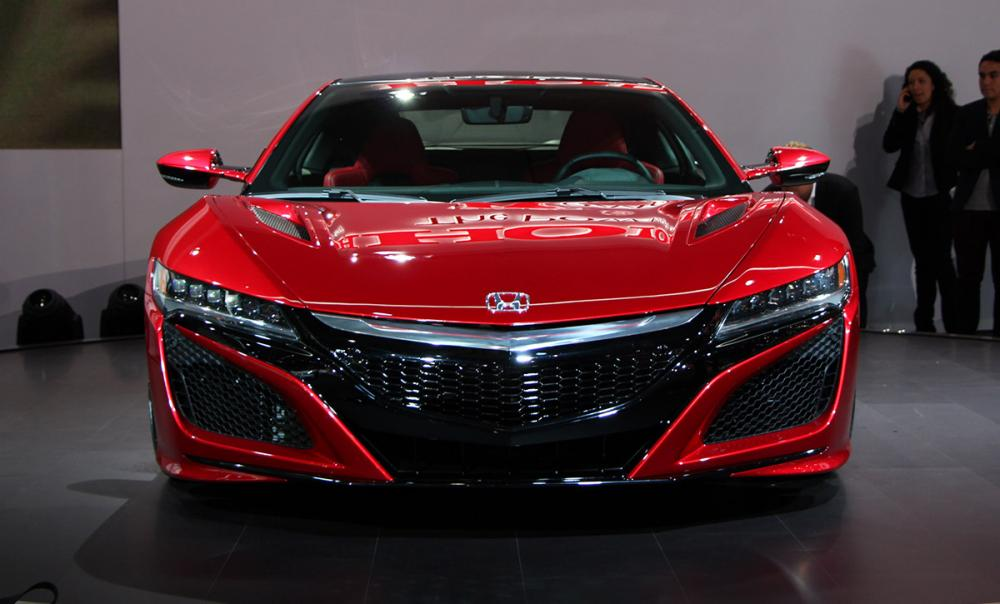 Genève 2015 : Honda NSX