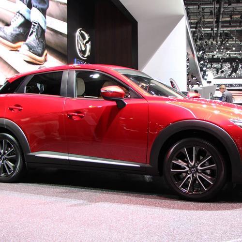 Genève 2015 : Mazda CX-3