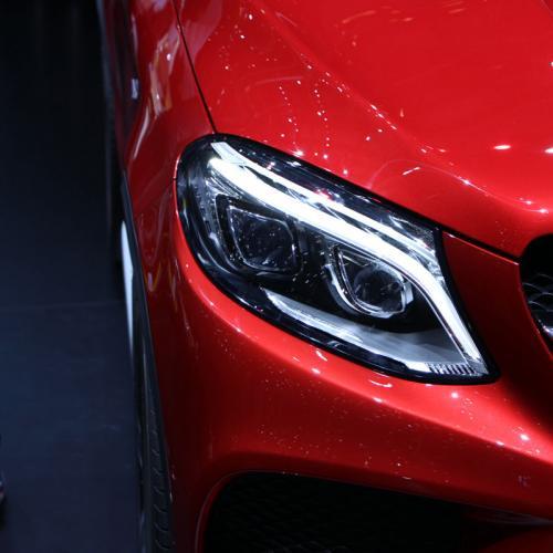 Mercedes GLE coupé Genève 2015