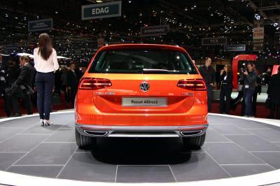 Volkswagen Passat Alltrack Genève 2015