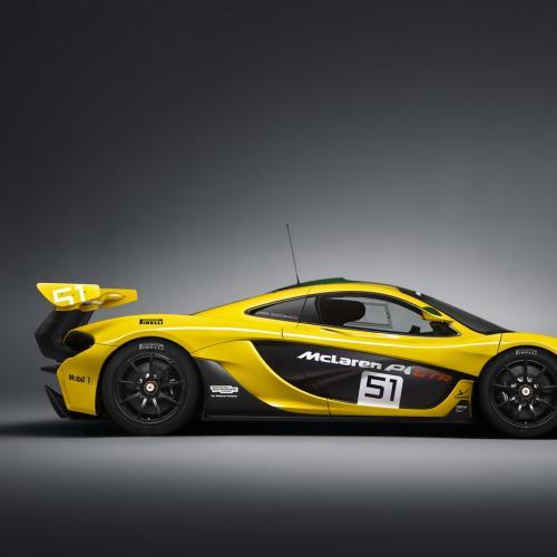 McLaren P1 GTR : toutes les photos