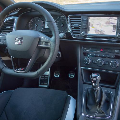 Essai Seat Leon ST Cupra