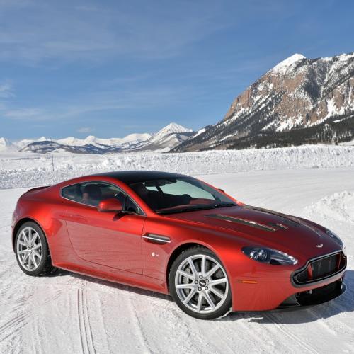 Aston Martin On Ice
