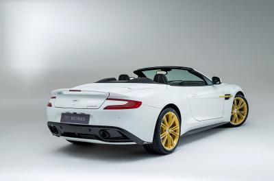 Aston Martin Works 60th Anniversary Vanquish