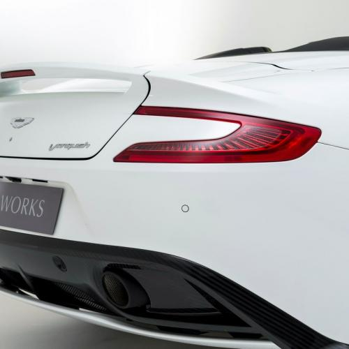 Aston Martin Works 60th Anniversary Vanquish