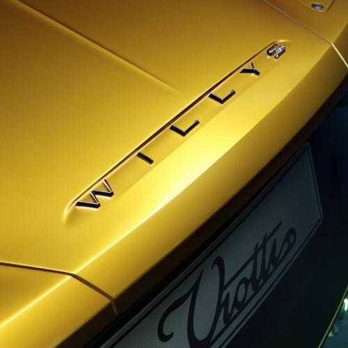 Willys AW 380 Berlinetta