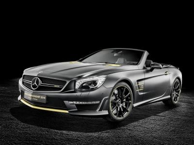 Mercedes SL 63 AMG Champion Edition